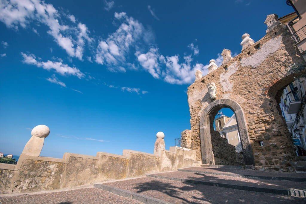 il centro storico di agropoli