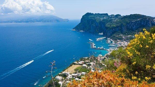 La marina grande di Capri