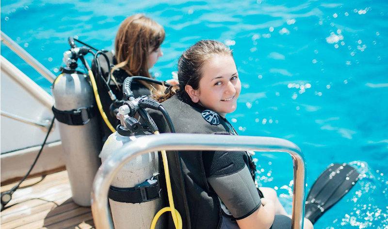 Le immersioni a Ischia