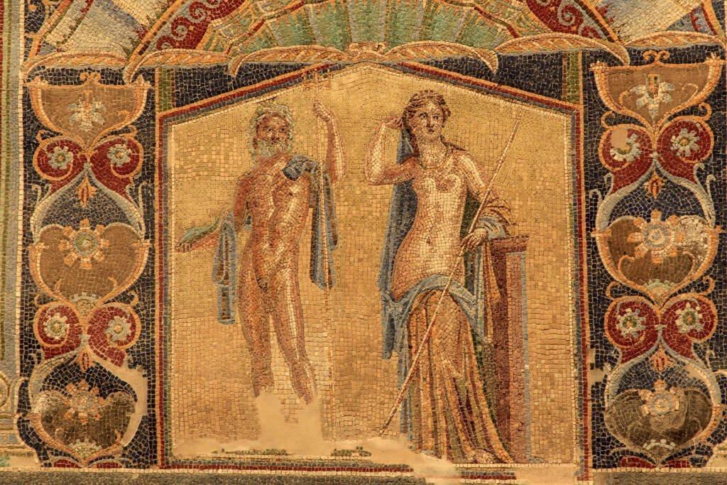 Visitare la casa di Nettuno a Pompei