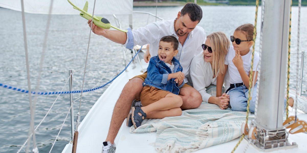 vacanza in barca a vela in famiglia